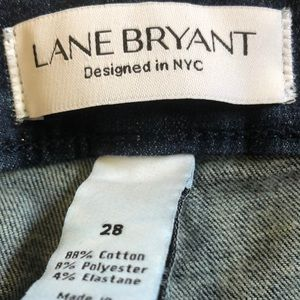 Lane Bryant Jeans - Skinny jeans with distressed look